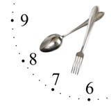 robić zegarowy rozwidlenie spoon Fotografia Stock