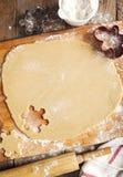 Robienie piernikowemu ciastku Obraz Stock