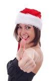 robienie Santa kobiety Obraz Stock