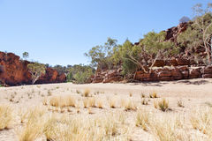 Robijnrode kloof Australië Stock Afbeelding
