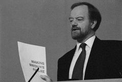 Robin Cook MP 1993 Royalty Free Stock Photography