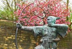 Robin Hood Imágenes de archivo libres de regalías