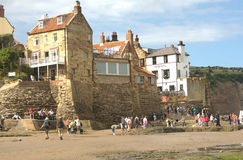Robin Hood's Bay. Royalty Free Stock Photo