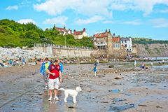 Robin Hood's Bay East Yorkshire royalty free stock photography