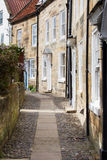 Robin Hoods Bay houses Stock Photography