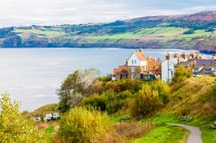 Robin Hood's Bay in North Yorkshire, UK Stock Image