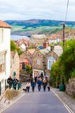 Robin Hood's Bay in North Yorkshire, UK Royalty Free Stock Photography