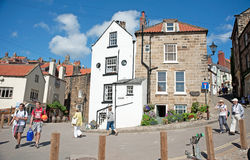 Robin Hood's Bay. Is a village on the North East Coast of Yorkshire formerly famous for fishing and smuggling but now a holiday and tourist destination Royalty Free Stock Photography