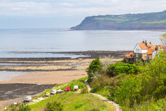 Robin Hood's Bay Yorkshire England Stock Photos