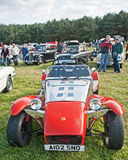 Robin Hood sports car. Built from a kit and shown at Roseisle Vintage Car and Steam Traction Rally on 23rd September 2012 Stock Photo