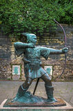 Robin Hood statue. Stock Photography