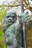 Robin Hood. Statue of Robin Hood in Nottingham, UK Royalty Free Stock Photos