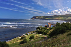 Robin Hoods Bay Stockfotos
