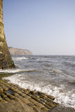 Robin Hoods bay. In North Yorkshire royalty free stock photos