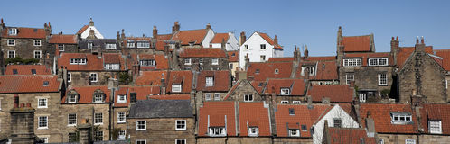 Robin Hoods Bay cottages Royalty Free Stock Image