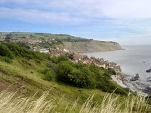 Robin Hoods Bay, East coast of England Stock Photos