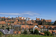 Robin Hoods Bay Homes and Roofs Royalty Free Stock Image