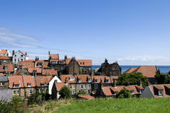 Robin Hoods Bay Rooftops Royalty Free Stock Photography