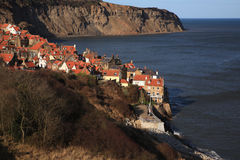 Robin Hoods Bay View Stock Photography