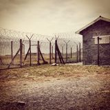 Robin Island prison Royalty Free Stock Images