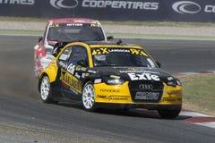 Robin LARSSON Audi A1 Barcelona FIA World Stock Afbeelding