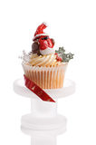 Robin Redbreast Cupcake Royalty Free Stock Photo
