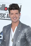 Robin Thicke arrives at the 2012 Billboard Awards Royalty Free Stock Photos