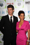 Robin Thicke,Halle Berry Royalty Free Stock Photo