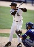 Robin Ventura, les White Sox de Chicago Photographie stock libre de droits
