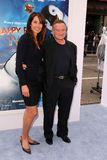 Robin Williams. And wife  at the Happy Feet Two World Premiere, Chinese Theater, Hollywood, CA 11-13-11 Stock Images