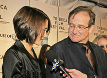 Robin Williams Photo libre de droits