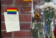 Robin Williams Memorial Immagini Stock Libere da Diritti