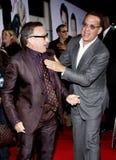 Robin Williams och Tom Hanks royaltyfria foton