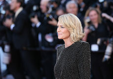 Robin Wright attends the `Ismael`s Ghosts Les Fantomes d`Ismael Royalty Free Stock Images
