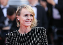 Robin Wright attends the `Ismael`s Ghosts Les Fantomes d`Ismael Royalty Free Stock Photos