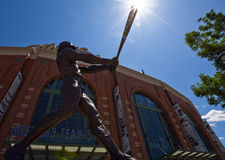 Robin Yount Statue at Miller Park Stock Photos