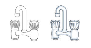 robinet Image stock