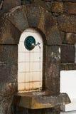 Robinet avec l'eau potable Images stock