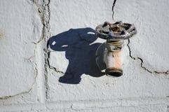 Robinet blanc Photo libre de droits