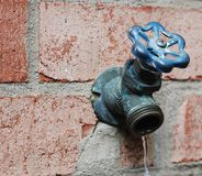 Robinet d'eau Image stock
