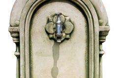 Robinet d'eau de vintage Images libres de droits
