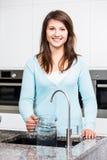 Robinet de filtration de l'eau photographie stock libre de droits