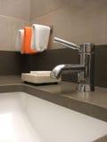 Robinet de salle de bains Photos libres de droits