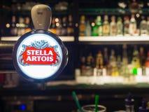 Robinet stellaire de bière pression Photos stock