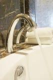 Robinets de salle de bains Image libre de droits