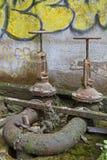 robinets putréfiés Images stock