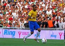 Robinho du Brésil Photo stock