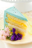 Robins egg cake Stock Photo