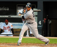 Robinson Cano, Yankees de New York Image stock