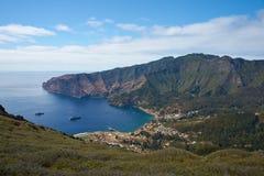 Robinson crusoe eiland royalty-vrije stock afbeeldingen